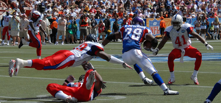 nfl game action