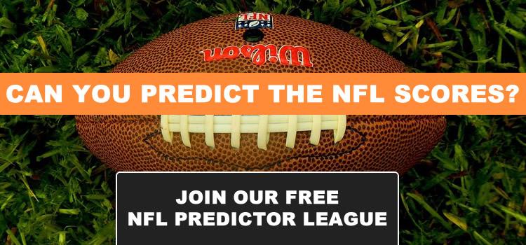 NFL Predictor 2021 banner
